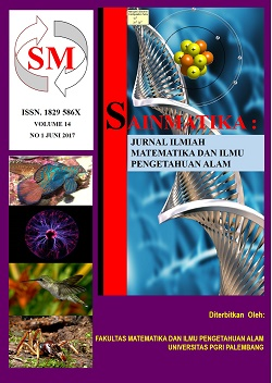 Jurnal Sainmatika contains the research articles from laboratory or field experiments and also theoretical as well as collaborative reserach in Mathematics, Chemistry, Physics and Biology.